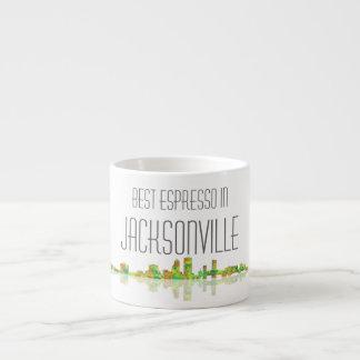 Jacksonville Skyline Espresso Mug