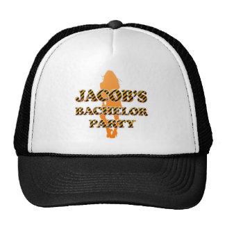 Jacob's Bachelor Party Cap