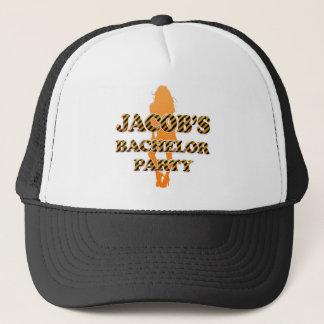 Jacob's Bachelor Party Trucker Hat