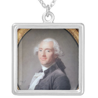 Jacques Alexandre Cesar Charles Silver Plated Necklace