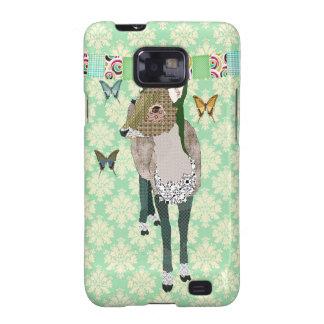 Jaded Deer Green Case Samsung Galaxy SII Case