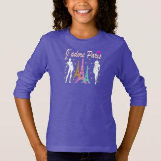 J'ADORE PARIS EIFFEL TOWER DESIGN T-Shirt