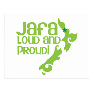JAFA Loud and proud! (New Zealand Auckland) Postcard