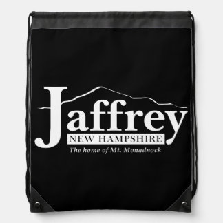 Jaffrey NH Drawstring Bag