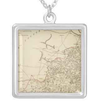 Jaghir Lands Silver Plated Necklace
