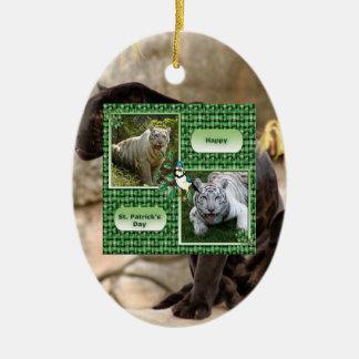 Jaguar Christmas Ornament