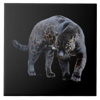 Jaguar Diablo large ceramic tile