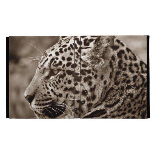 Jaguar Photo iPad Folio Cases