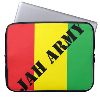 Jah Army Rasta Design Laptop Sleeve