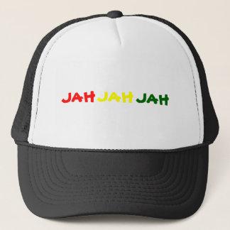 JAH JAH JAH TRUCKER HAT