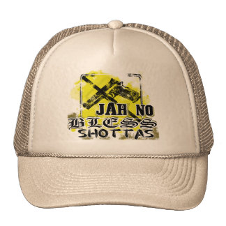 """Jah no bless shottas"" Cap"