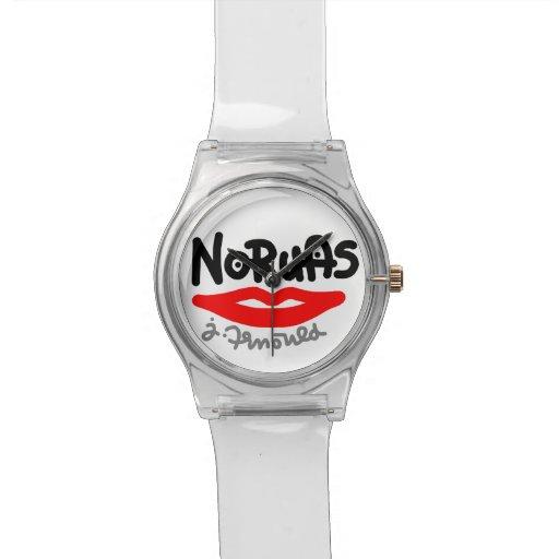 jak arnould 0509 noruas blanc wristwatches