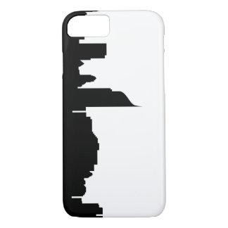 jakarta city skyline silhouette indonesia iPhone 7 case