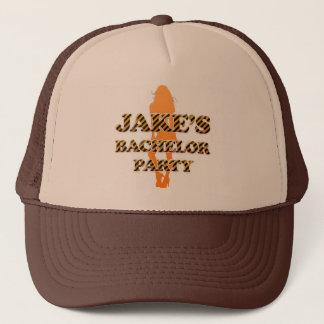 Jake's Bachelor Party Trucker Hat