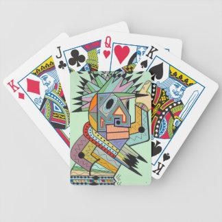 """Jam in Brooklyn"" by Ruchell Alexander Poker Deck"