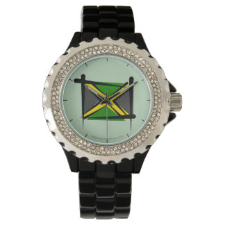 Jamaica Brush Flag Watch