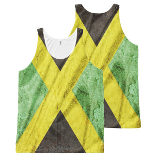 Jamaica flag All-Over print tank top