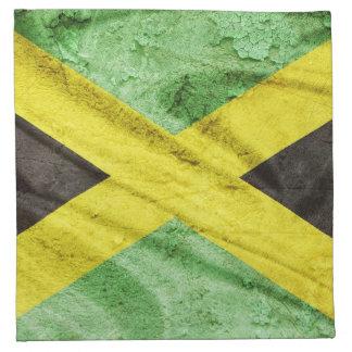 Jamaica flag napkin