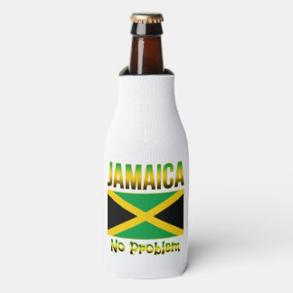Jamaica Flag No Problem Bottle Cooler