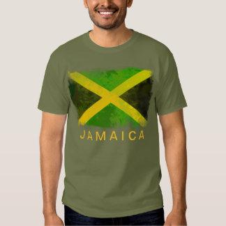 jamaica flag - reggae roots tee shirts