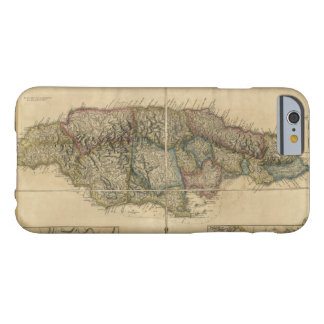 Jamaica from the latest Surveys Map (1775) Barely There iPhone 6 Case