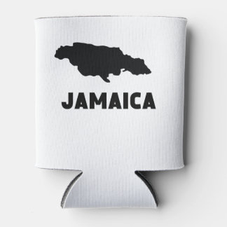 Jamaica Silhouette Can Cooler