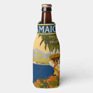 Jamaica, the gem of the tropics bottle cooler