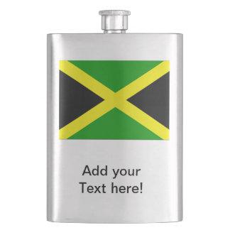 Jamaican Flag Hip Flask