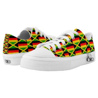 JAMAICAN-GERMAN LOW TOPS