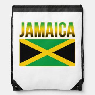 Jamaican Pride Flag Of Jamaica Drawstring Bag