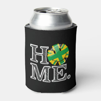 Jamaican Style Union Jack Flag Can Cooler