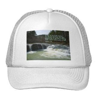 James 1:5  Waterfall Cap