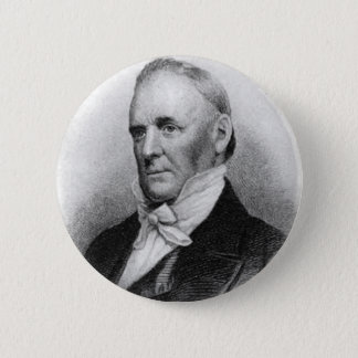 James Buchanan 15th President 6 Cm Round Badge