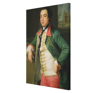 James Caulfield (1728-99), 4th Viscount Charlemont Canvas Print