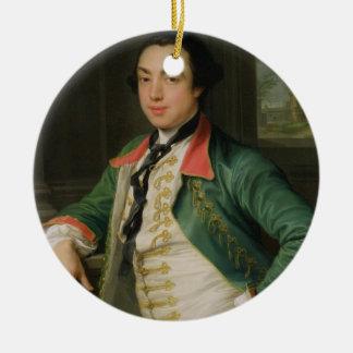 James Caulfield (1728-99), 4th Viscount Charlemont Christmas Ornament