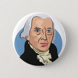 James Madison 6 Cm Round Badge