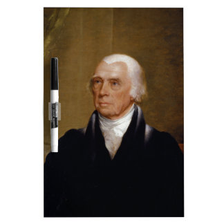 James Madison by Chester Harding (1830) Dry Erase Board