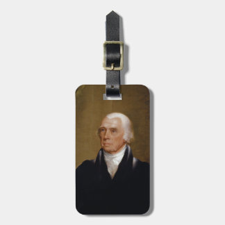 James Madison by Chester Harding (1830) Luggage Tag