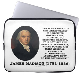 James Madison Govt Of United States Specified Govt Laptop Sleeves