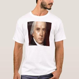 "James Madison ""Mistrust Power"" Wisdom Quote T-Shirt"