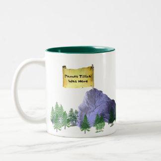 James Tillich Was Here Two-Tone Coffee Mug