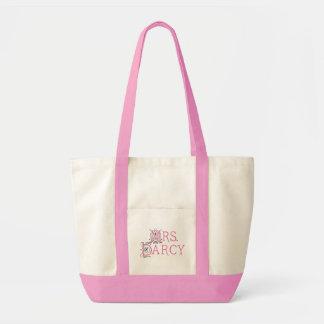 Jane Austen Mrs Darcy Gift Tote Bag