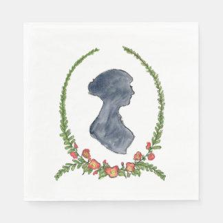 Jane Austen Napkins Paper Napkins