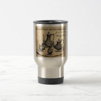 Jane Austen: Nothing But Tea Stainless Steel Travel Mug