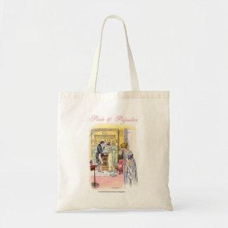 Jane Austen Pride & Prejudice Jane and Bingley Tote Bag