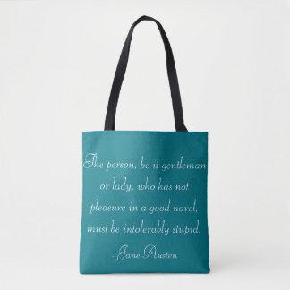 Jane Austen Quote Tote