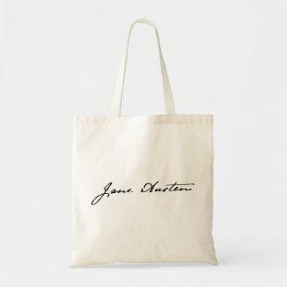 Jane Austen Signature Tote Bag
