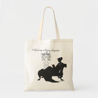 Jane Austen Solitary Elegance Tote
