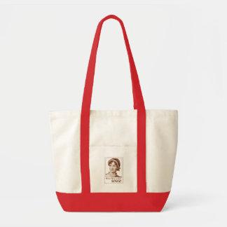 Jane Austen What Would Jane Sing Bag