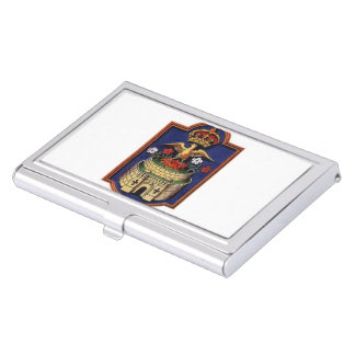 Jane Seymour Phoenix Badge Card Holder Business Card Holders
